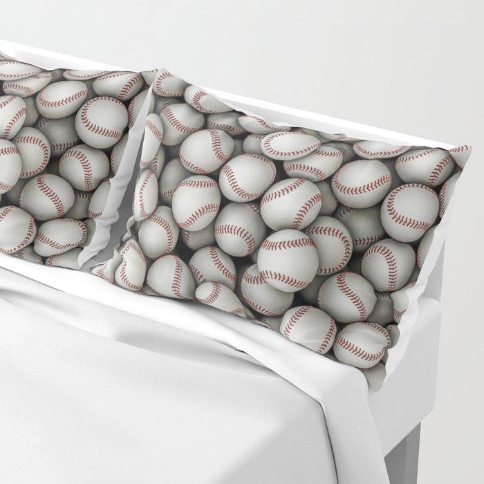 Baseballs Pillow Sham