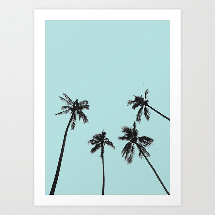 Découvrez le motif PALM TREES 5 par Andreas12 en affiche chez TOPPOSTER