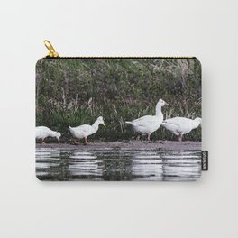 Crested Pekin Duck 3 Carry-All Pouch