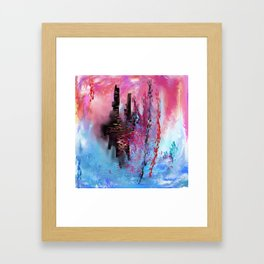 City of Water Framed Art Print