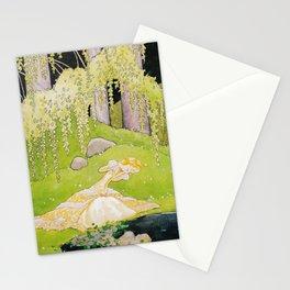 Adalmiina´s Mirror by Rudolf Koivu  Stationery Cards
