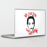 miley Laptop & iPad Skins featuring Miley Tee! by Eric Terino