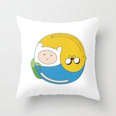 Adventurer Balance Throw Pillow