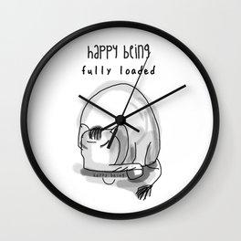 Fully Loaded Wall Clock