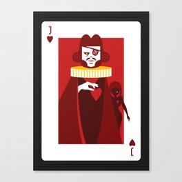 Jack of Hearts - Casanova Canvas Print
