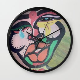 Emotional Saga Wall Clock
