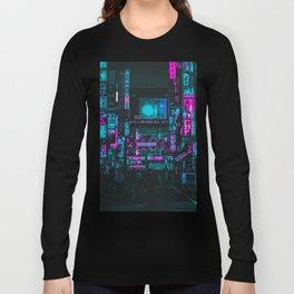 Cyberpunk City Long Sleeve T-shirt