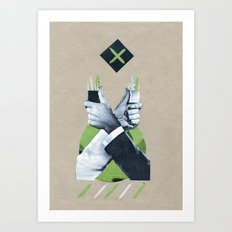 Service Toothpicks Art Print