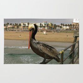 Are You a Pelican  Or a Pelican't? Rug