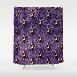 Musical Cat Shower Curtain