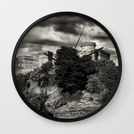 Inverness Castle Scotland Wall Clock