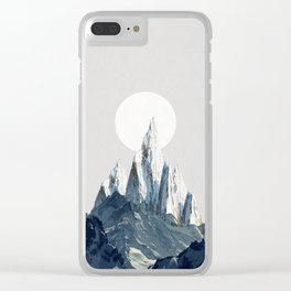 Full moon 2 Clear iPhone Case