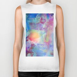 You Are entering a beautiful place called heaven  by Sherriofpalmsprings Biker Tank