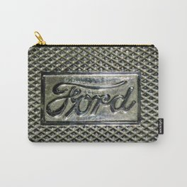 Ford Script Step Plate Carry-All Pouch