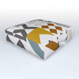 Mid West Geometric 05 Outdoor Floor Cushion