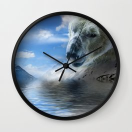 Polar Bear XIIX Wall Clock