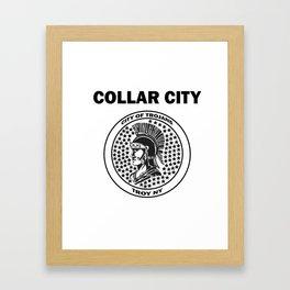 Collar City Framed Art Print