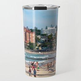 Manly Beach, Sydney Travel Mug