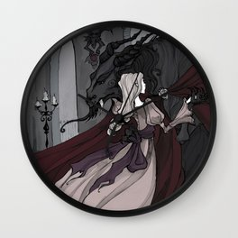 Beauty and the Beast Dance Wall Clock