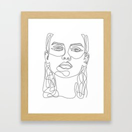 In Perfect Framed Art Print