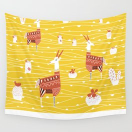 Antelope in the desert Wall Tapestry