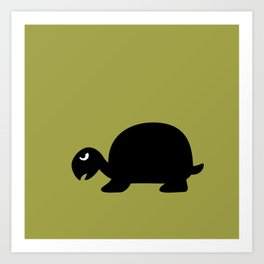 Angry Animals: Tortoise Art Print