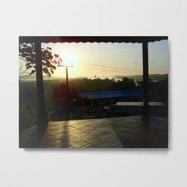 Sunrise over San Carlos Metal Print