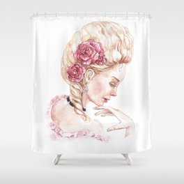 The image of Marie Antoinette Shower Curtain