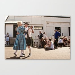 German dancers Canvas Print