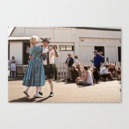 German dancers Canvas Print