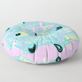 Doodle Those! with Colour! Floor Pillow