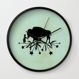 Buffalo Soldier Wall Clock