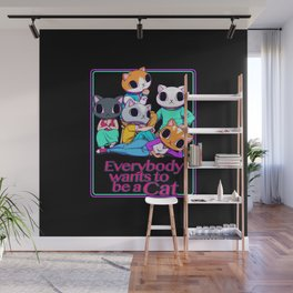 Everybody Wants To Be a Cat Wall Mural