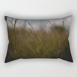 In the tall grass Rectangular Pillow
