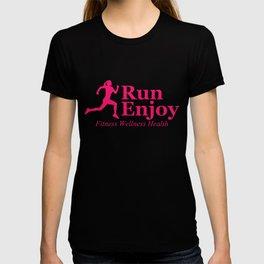 Run and enjoy T-shirt