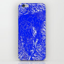 Abstract Buford Charging iPhone Skin