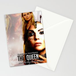 The Queen and the Bid Bad Saviour Stationery Cards