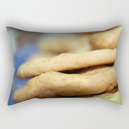 Cookie Close-Up Rectangular Pillow