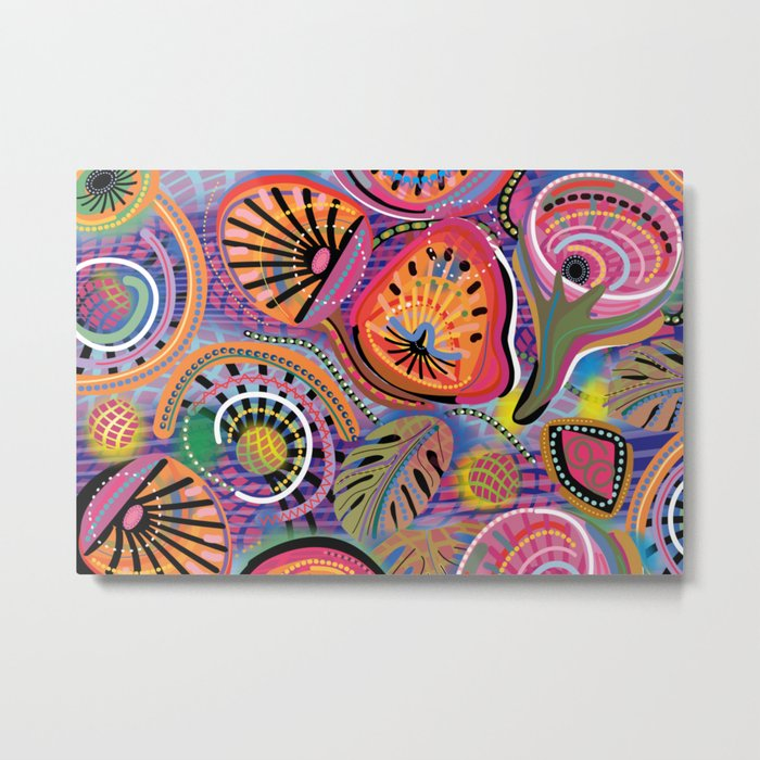 Biology of Bliss Metal Print