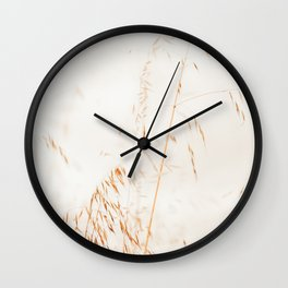 Long Grass photography by Ingrid Beddoes Wall Clock