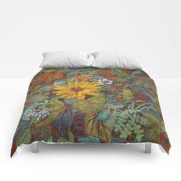 flower 2【Japanese painting】 Comforters