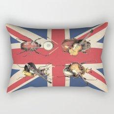 Meet the Beetles (Union Jack Option) Rectangular Pillow