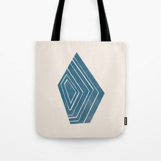 Geode I - in Sapphire Tote Bag
