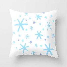 Snow Flurry! Throw Pillow