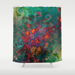 """Spring Pop Still Life"" Shower Curtain"