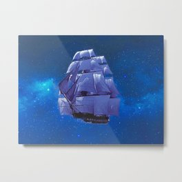 Flying Dutchman Metal Print