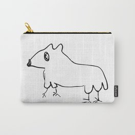 Hamster by little George Carry-All Pouch