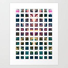 Square Repeat Art Print