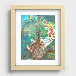 Patriarchy  Recessed Framed Print