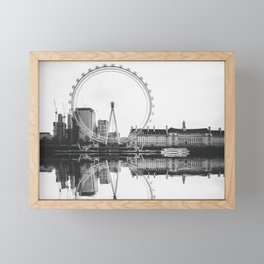 Amazing London Eye Framed Mini Art Print